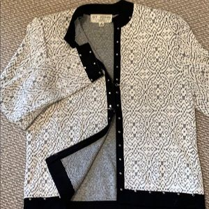 St. John by Marie Gray classic jacket sweater Sz 8